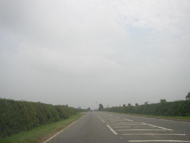 Approach to Newmarket, Suffolk