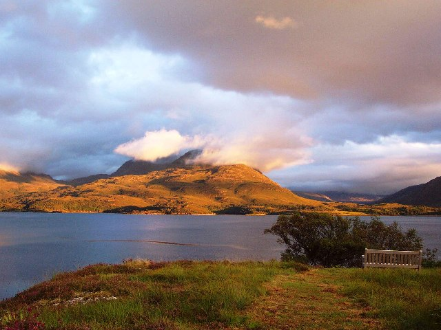 Upper Loch Torridon from Inveralligin