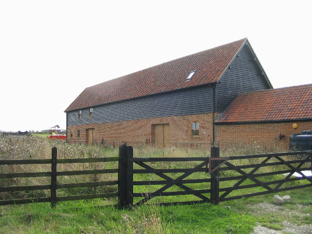 Converted Barn, Babshole Farm, near Little Bursted.
