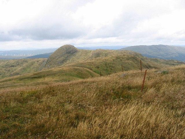 Ridge above Creag a' Chanuill.