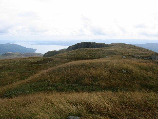 Ridge above Creag a'Chanuill.
