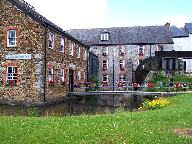 Monastic Produce Shop and Water Mill