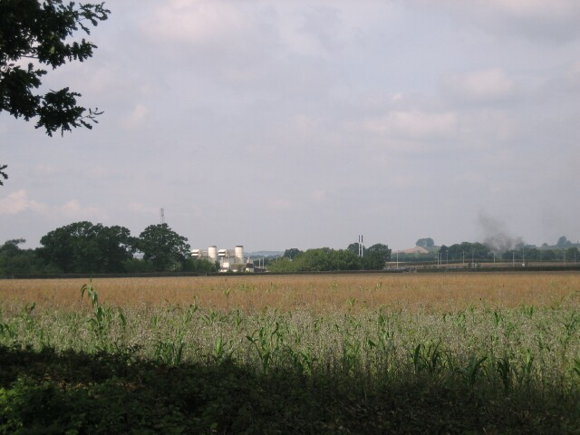 Gas Compression Plant near Wormington