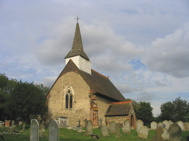 Parish Church of Little Burstead, Essex