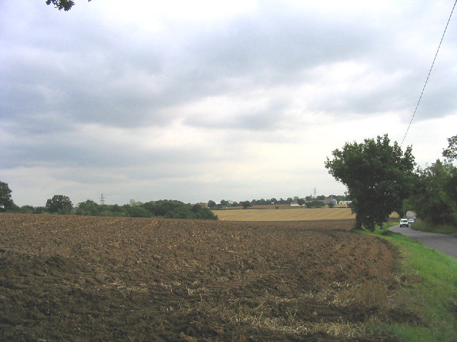 Freshly ploughed field, Dunton, Essex