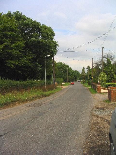 Dunton Road, Dunton, Essex