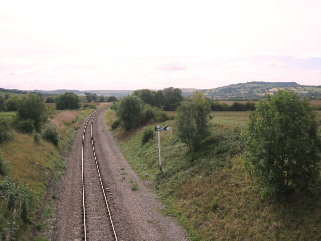 Railway at Hailes