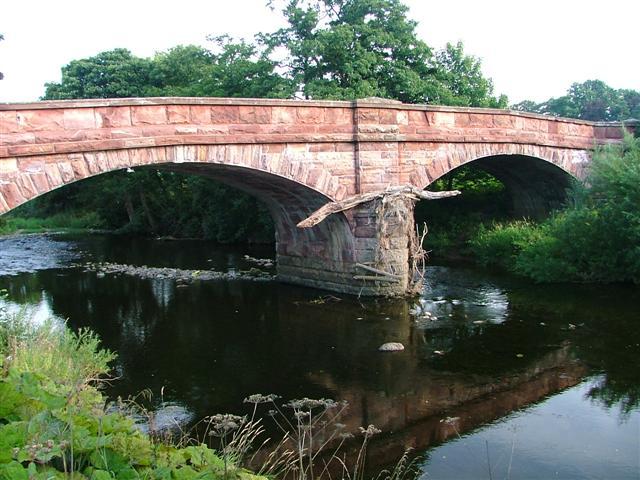 Bolton Bridge over the River Eden