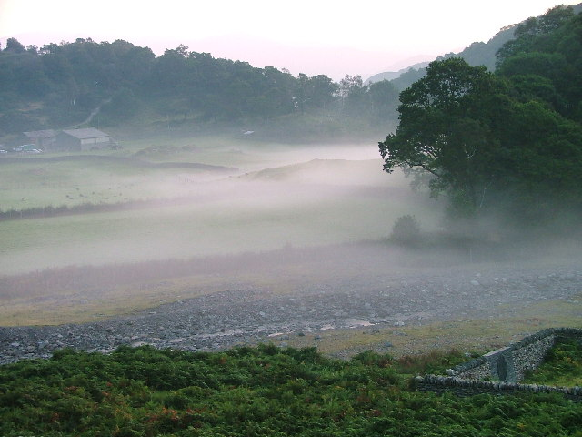 Early Morning Mist, High Tilberthwaite