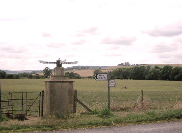 Signposts at Toddington