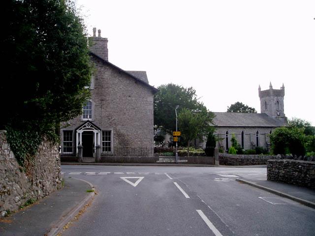 Trinity House and Holy Trinity Church, Holme