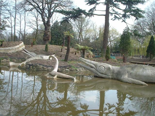 Dinosaurs at Crystal Palace Park