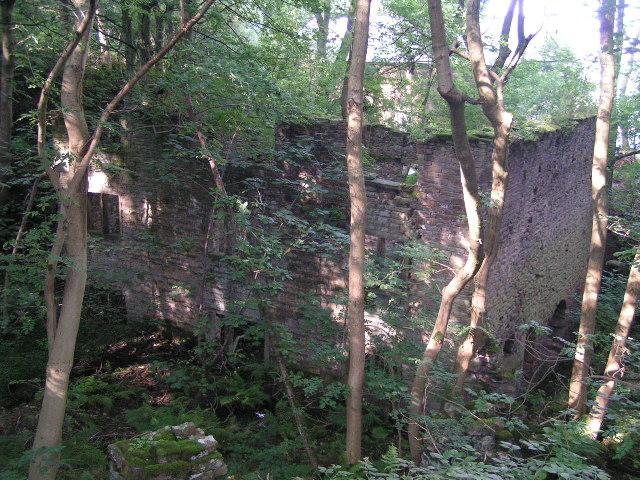 Ruined watermill, Phoside