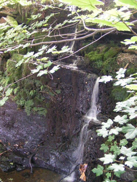 Waterfall above Phoside Farm