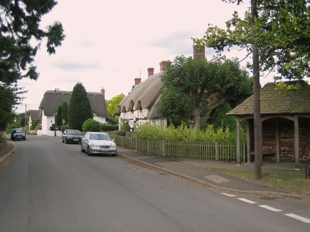 Thatched Cottages at Dumbleton
