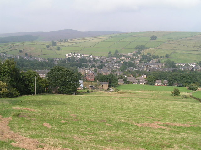 Hayfield from the southwest