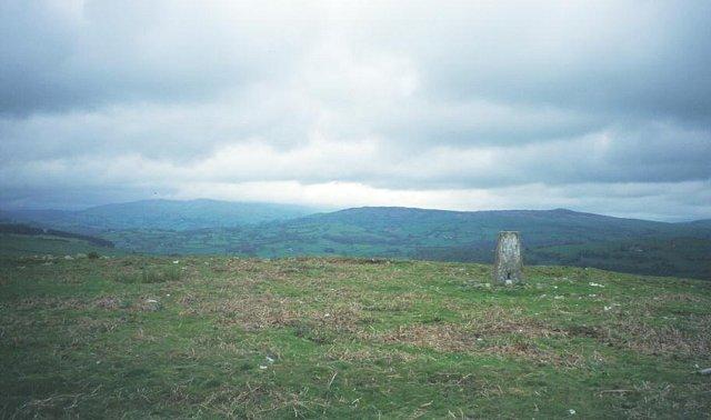 Summit. Mynydd Rhyd ddu.