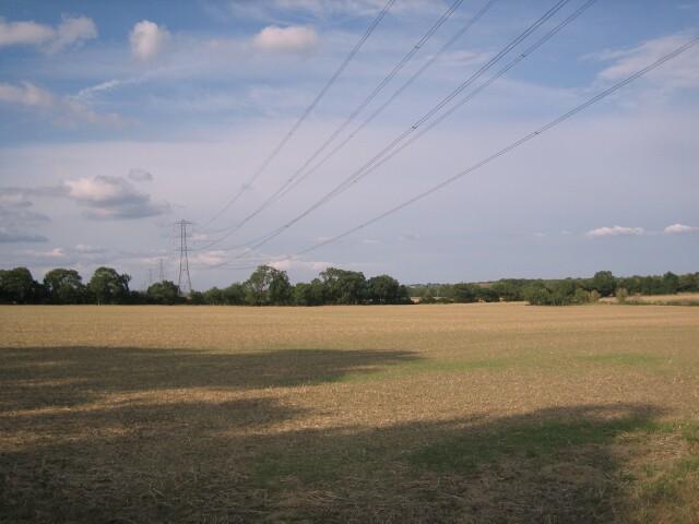 Power Lines near Hinton