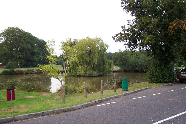 Pirbright pond and green