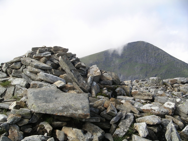 Summit Cairn, Beinn Liath Mhor Fannaich
