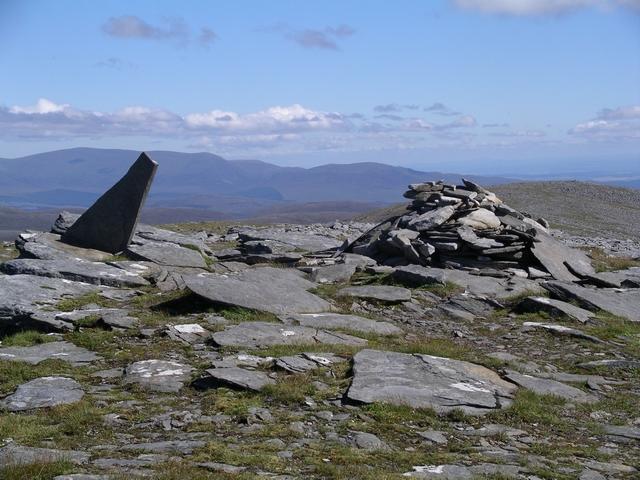 Summit Cairn, Meall Gorm