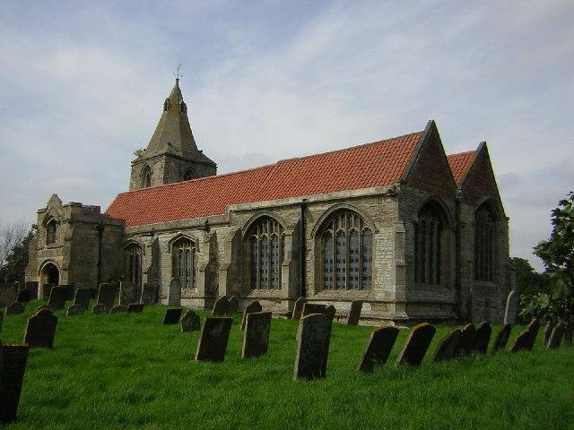 St.Giles' church, Holme, Notts.