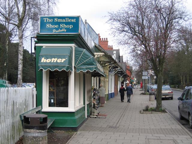 The Smallest Shoe Shop – probably!