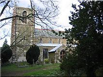 TF4771 : Church of St Helena, Willoughby, Lincs by Rodney Burton