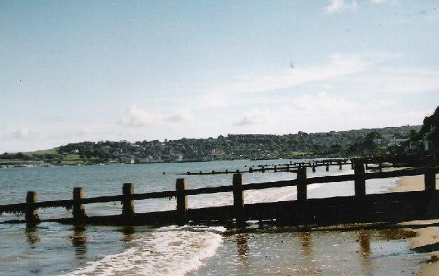 Groynes,  Swanage Bay