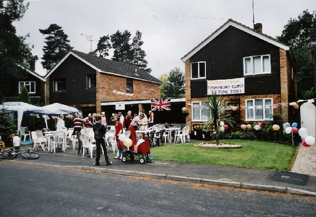 Jubilee Party, Crowthorne ,Berkshire