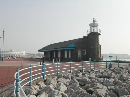 Site of Morecambe's first railway station