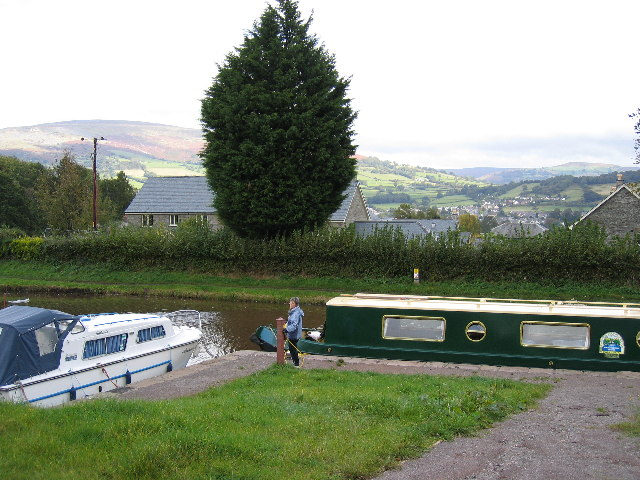 Monmouthshire and Brecon Canal, near Llangattock