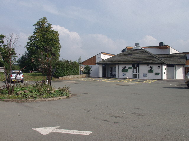 Visitors centre at Alyn Waters Country Park, Wrecsam