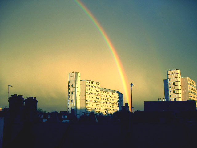 Rainbow over Doddington & Rollo Estate