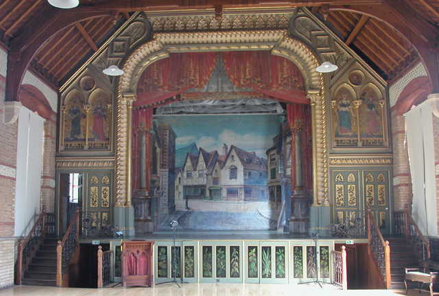 Normansfield Theatre Stage