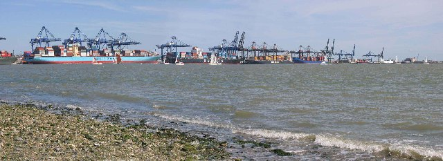 View from Shotley