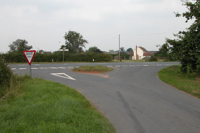 Road Junction in Tirley