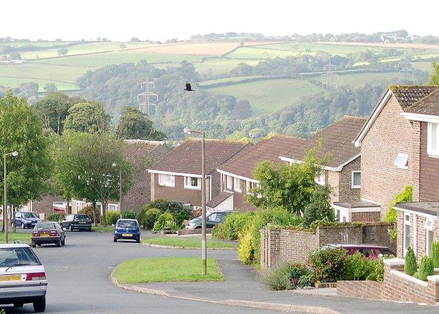 Modern Housing in Ivybridge