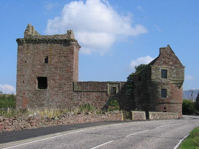 Burleigh Castle, Milnathort, Kinross-shire