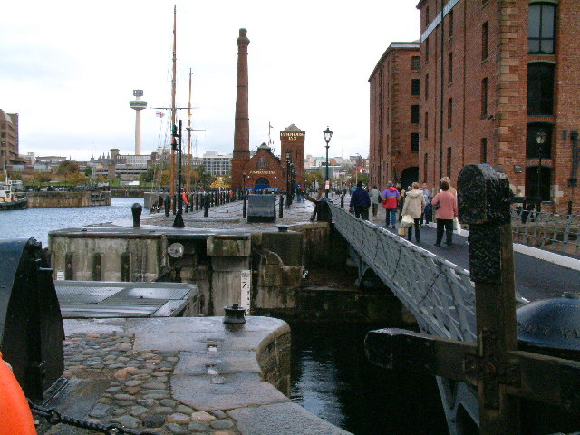 Albert Dock scene, Liverpool