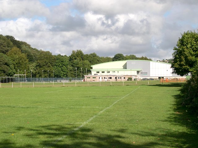 Playing fields and Sports Centre