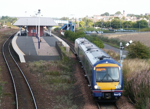 Leuchars railway station