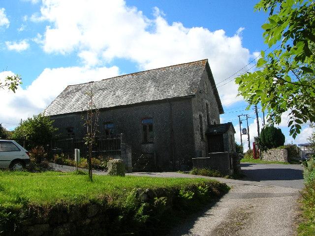 Rescorla Chapel, near St. Austell , Cornwall