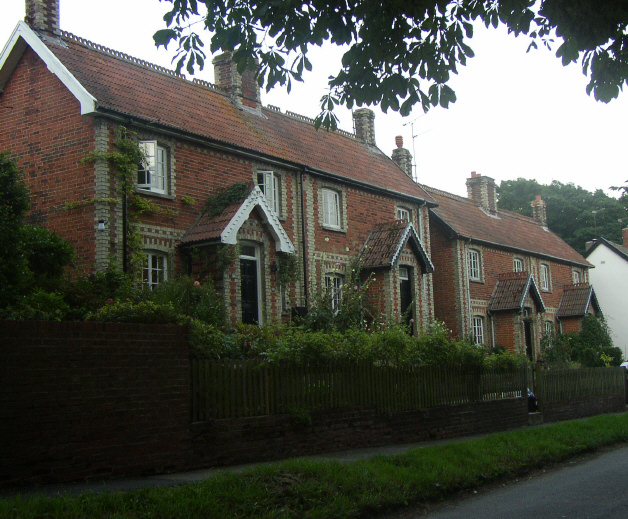 Edwardian Houses, Dullingham, Cambridgeshire