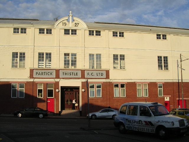 Partick Thistle Football Ground