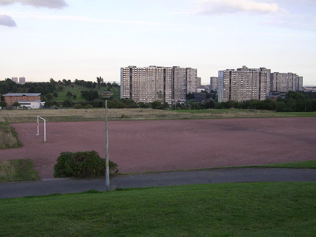 Football Pitch, Cowlairs Park