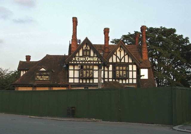 The Goat Tavern Public House near Forty Hall