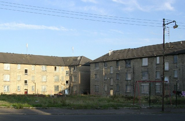 Derelict housing, Ruchill