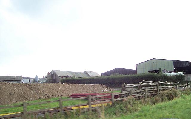 Bargoed farm buildings