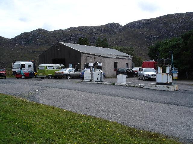 Loch Ewe Service Station